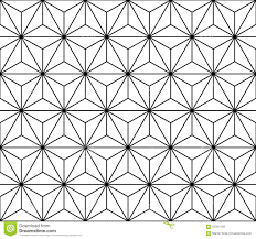 New Modern Black And White by Vector Modern Seamless Sacred Geometry Pattern Black And White