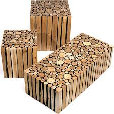 tables made from logs d i y inspiration scraphack your own modern log furniture