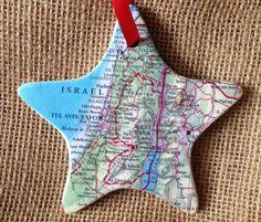 nashville tennessee map ornament by whereverilodge on etsy