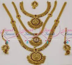 traditional design br7782 full bridal set short medium long necklace 3 in one