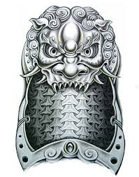 1sheet big3d shoulder dragon tattoo armor temporary tattoo sticker
