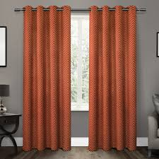 Red Orange Curtains Curtain Amusing Penneys Curtains Valances Drapes For Living Room