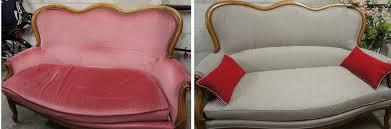 tapisser un canapé canapé louis philippe tapissier décorateur