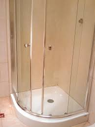 Install Shower Door by Creative Of Shower Base And Doors Shower Door Amp Base Kits Tub