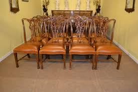 Elegant Set Of  Beautiful Chippendale Dining Chairs - Chippendale dining room