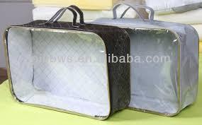 Duvet Bags Pvc Non Woven Bedding Packaging Bags For Quilt Duvet Comforter