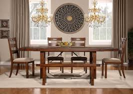 homelegance clayton dining set dark oak d2515 96