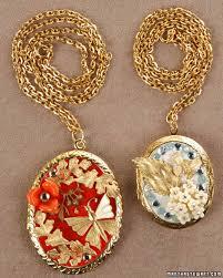 Locket Ornament Charming Locket U0026 Video Martha Stewart
