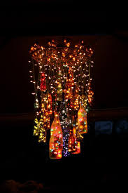 Handmade Chandeliers Lighting 25 Creative Wine Bottle Chandelier Ideas Hative
