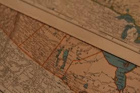 Map Letters Cottage Modern An Original Take On An Unoriginal Idea