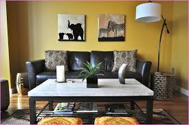decorating with a modern safari theme living room interior design ideas with dining table get inspired