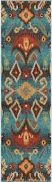 Aztec Runner Rug Orian Rugs Bright Color Southwest Aztec Monica Multi Rug