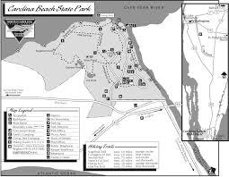 Ca State Parks Map by Caroline Beach State Park Map Carolina Beach Nc 28428 U2022 Mappery