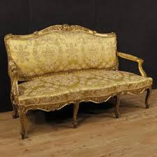 19th century sofa styles antique golden sofa in louis style of the 19th century benches