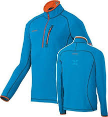 mammut eiswand light zip pullover mammut eiswand light zip pullover longsleeve mens cyan s be sure