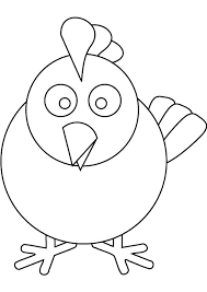 coloring page of a chicken how to draw chicken coloring page coloring sun how to draw chicken