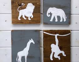 safari nursery decor etsy