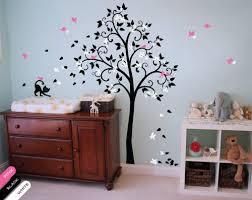 Nursery Tree Wall Decal Nursery Tree Wall Decal Blossoms Vinyl Decor Cat Mural Sticker