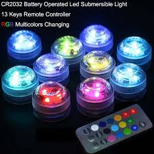 led tea lights battery life aliexpress com buy aquarium decor christmas lights 20pcs lot
