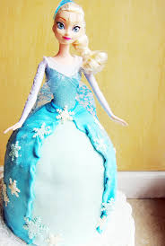 elsa doll cake the busy spatula