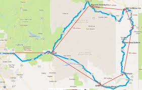 Tumbleweed Park Map Devil U0027s Highway Overnighter Lets Just Ride Motorcycle Group