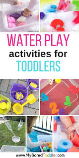 water play activities for babies and toddlers water play
