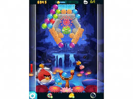 angry birds stella pop red puzzle game