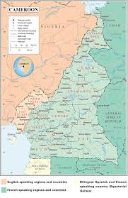 Map Of Cameroon The Anglophone Dilemma In Cameroon Accord
