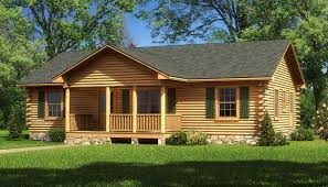 Log Cabin Plans by Lafayette Log Home Plan By Southland Log Homes