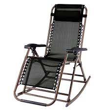Patio Folding Chair by Partysaving Infinity Zero Gravity Rocking Chair Outdoor Lounge