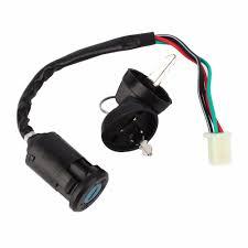 1 pcs key switch 4 wire ignition key switch 50 90 110 125 cc fit