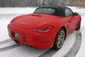 how to drive a porsche boxster porsche everyday we slog a boxster on snowy roads boston