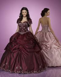 gold and burgundy wedding gowns and cakes the wedding
