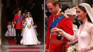 marriage dress kate middleton s wedding dress a look back at iconic