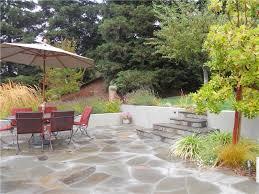 Backyard Flagstone Flagstone Paving Ideas Landscaping Network