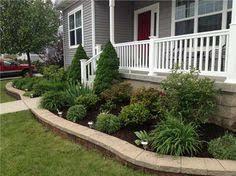 Landscape Design For Front Yard - landscaping ideas north facing front yard landscaping