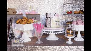 stunning paris themed party decorating ideas youtube