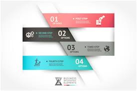 modern infographic origami template presentation templates