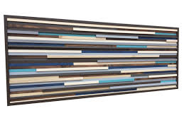 wood wall reclaimed wood sculpture modern artwork