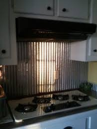 tin backsplashes for kitchens corrugated metal backsplash home corrugated