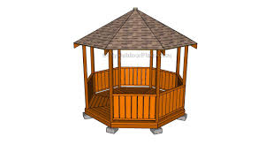 rectangular gazebo plans myoutdoorplans free woodworking plans
