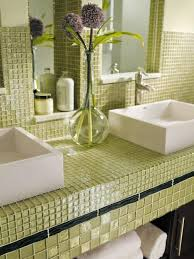 bathroom tile countertop ideas 27 best tile countertops images on bathrooms kitchens