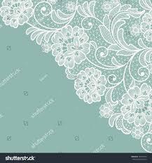 Design Patterns For Cards Template Frame Design Card Vintage Lace Stock Vector 546999379