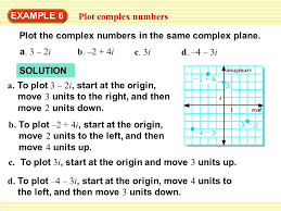 4 6 perform operations with complex numbers ppt video online