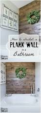 55 gorgeous diy farmhouse furniture and decor ideas for a rustic diy plank wall