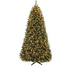 artificial christmas tree with lights holiday time pre lit decorated 7 5 lakeshore pine artificial
