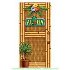 luau scene setter aloha door cover wall poster party decoration tropical island scene setter aloha door cover mural poster luau pirate hawaiian style theme beach pool