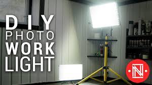 cheap led photo work light panel under 20 diy lighting youtube