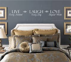 live every moment laugh every day love beyond words wall decal zoom