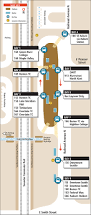 Seattle Metro Bus Routes Map by Kent Station King County